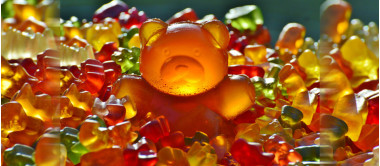 Gomas - Vitaminas em gummies: sabor de saúde