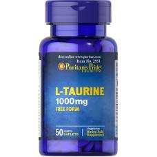 Taurina 1000 mg - VAL. DEZ/2021