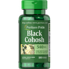 Black Cohosh 540 mg (Cimicífuga)