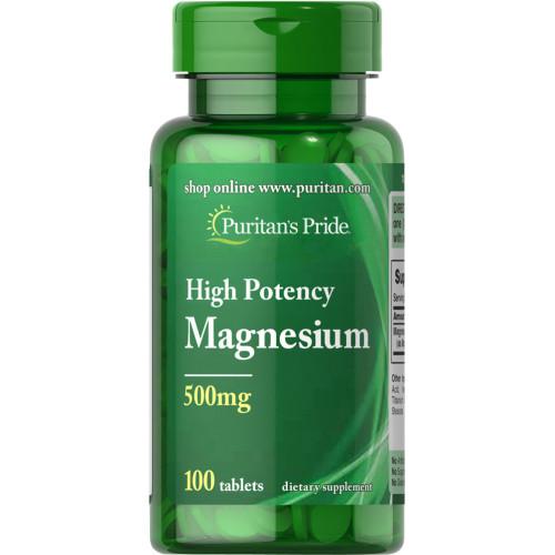 Magnésio 500 mg