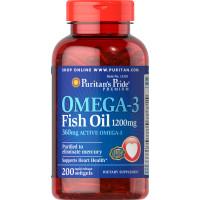 Óleo de Peixe Ômega-3 1200 mg (360 mg de Ômega-3 Ativo)