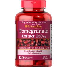 Pomegranate (Extrato de romã) 250 mg