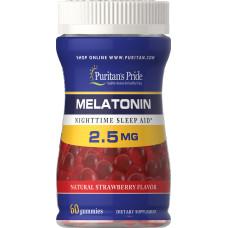 Melatonina Gummy 2.5 mg Sabor Morango