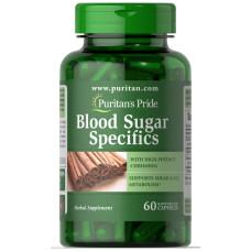 Blood Sugar Specifics com Canela & Cromo
