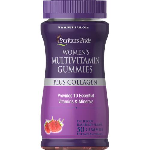 Gummies Multivitamínico Feminino Plus Colágeno