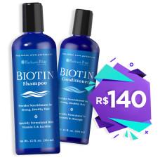 Biotina Shampoo e Condicionador