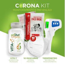 Corona Kit - Imunidade, prevenção e monitoramento