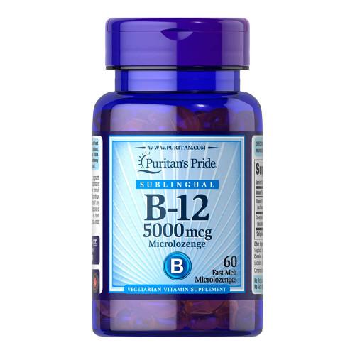 Vitamina B-12 5000 mcg Sublingual