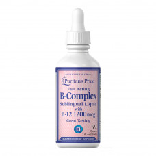 Complexo Vitamina B com Vitamina B-12 Sublingual