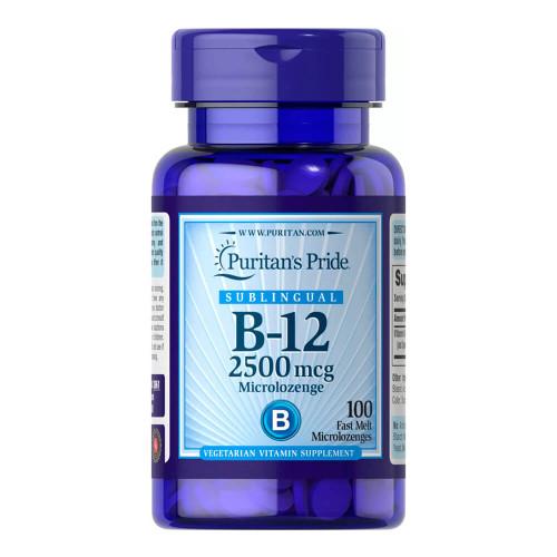 Vitamina B-12 2500 mcg Sublingual