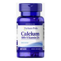 Carbonato de Cálcio 600 mg + Vitamina D 125 UI
