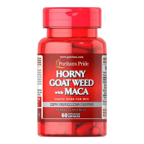 Horny Goat Weed com Maca 500 mg / 75 mg
