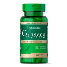 Complexo de Ginseng com Geleia Real 1000 mg
