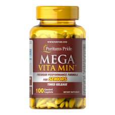 Mega Vita Min™ Multivitamínico para Idosos Liberação programada