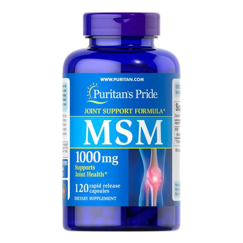 MSM 1000 mg (Fonte de enxofre)