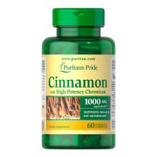 Complexo Cinnamon com Alta concentração de Cromo 1000mg  60 caps
