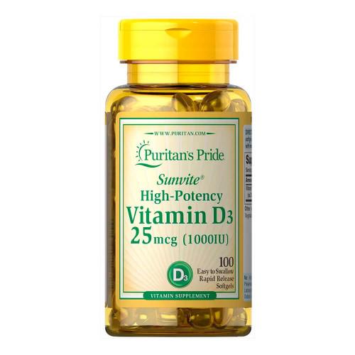 Vitamina D3 1000 UI