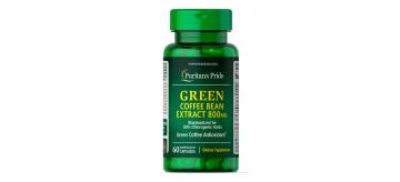 Extrato de Grão de Café Verde 800 mg - VAL OUT/2021