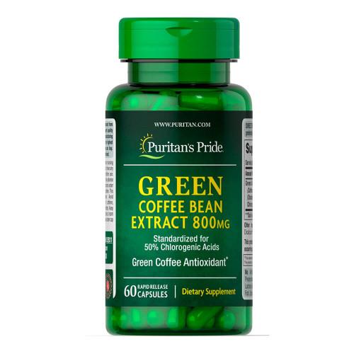 Extrato de Grão de Café Verde 800 mg