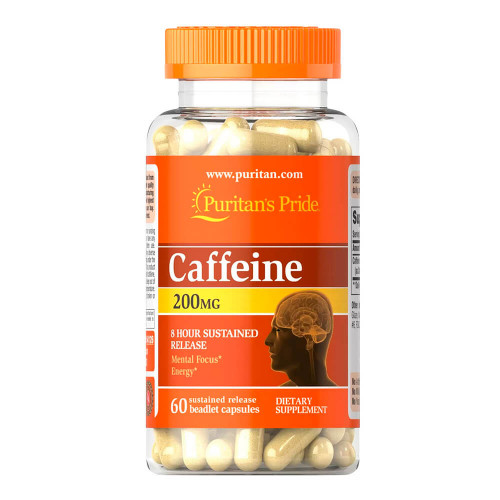 Cafeína 200 mg Liberação sustentada 8 horas