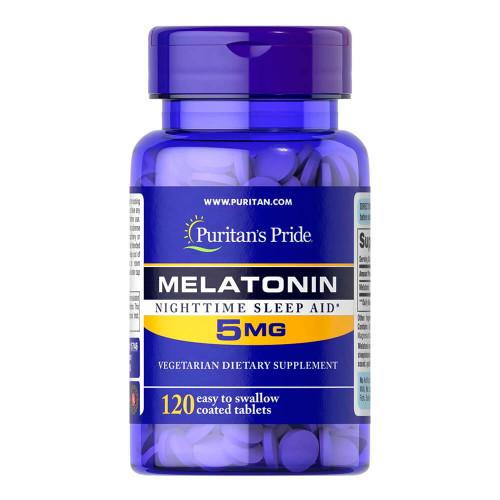 Melatonina 5 mg 120 Comprimidos Liberação programada