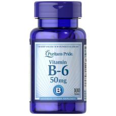 Vitamina B-6 (Cloridrato de Piridoxina) 50 mg