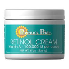 Creme retinol (100.000 UI de vitamina A por 30 g)