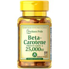 Beta-Caroteno 25,000 IU