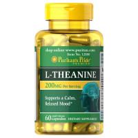L-Teanina 200 mg por porção