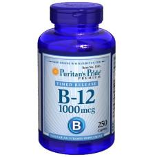 Vitamina B-12 1000 mcg Liberação Programada
