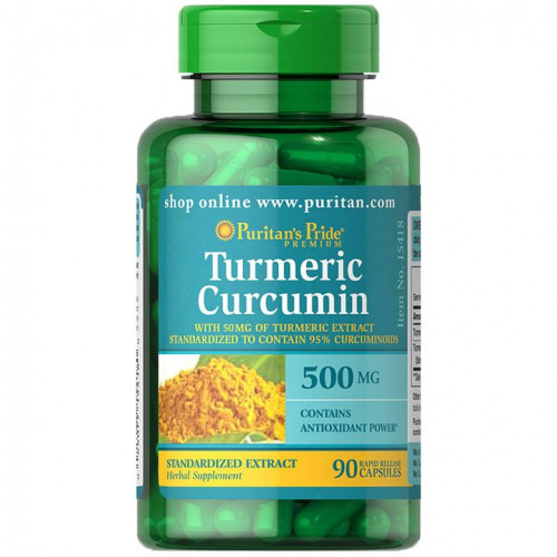 Açafrão Cúrcuma 500 mg (Turmeric)