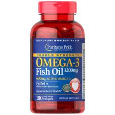 Força Dupla Ômega-3 Óleo de Peixe 1200 mg