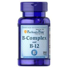 Complexo de Vitamina B e Vitamina B-12