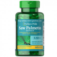Extrato Padronizado de Saw Palmetto 320 mg