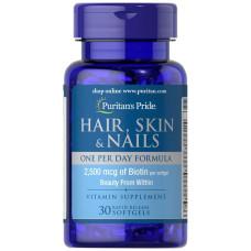 Hair, Skin & Nails (Fórmula um por dia)