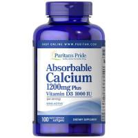 Cálcio Absorvível 1200 mg com Vitamina D3 1000 UI