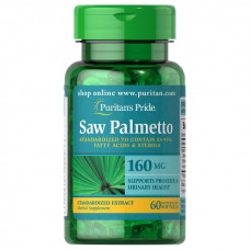 Saw Palmetto Extrato Padronizado  160 mg