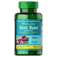 Extrato de raiz de beterraba 500 mg - 90 Caps Padronizado para conter 0,3% de Betanin